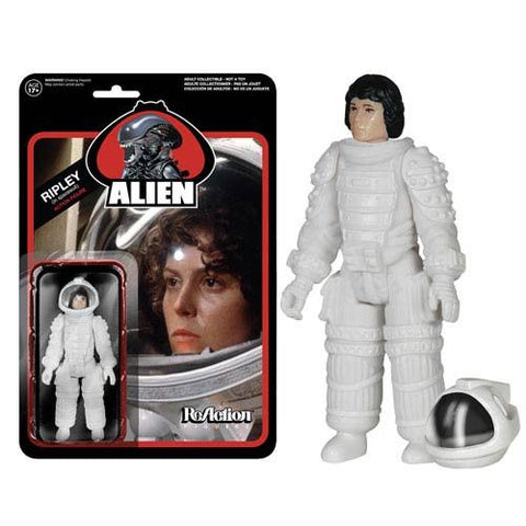 Alien Spacesuit Ripley ReAction 3 3/4-Inch Figure