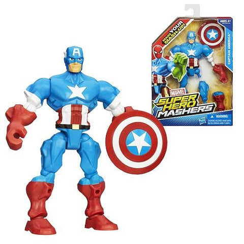 Captain America Marvel Super Hero Mashers Action Figure