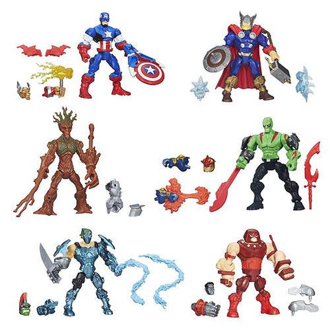 Marvel Super Hero Mashers Upgrade Action Figures Wave 6
