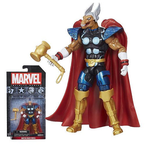 Marvel Infinite Series Beta Ray Bill Action Figure