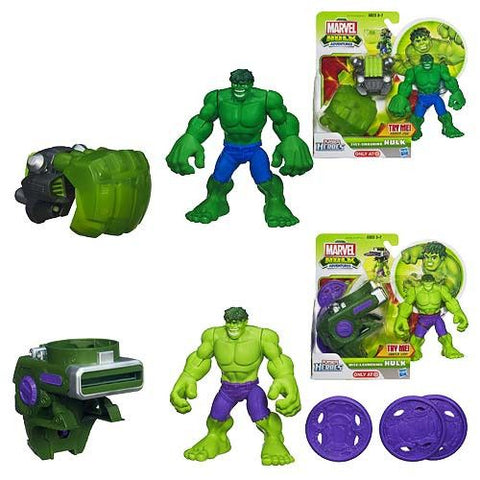 Marvel Hulk Adventures Action Gear Figures Case