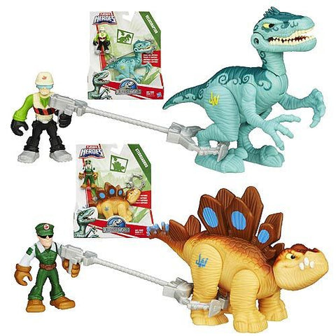 Jurassic World Playskool Heroes Dinosaur Trackers Wave 1