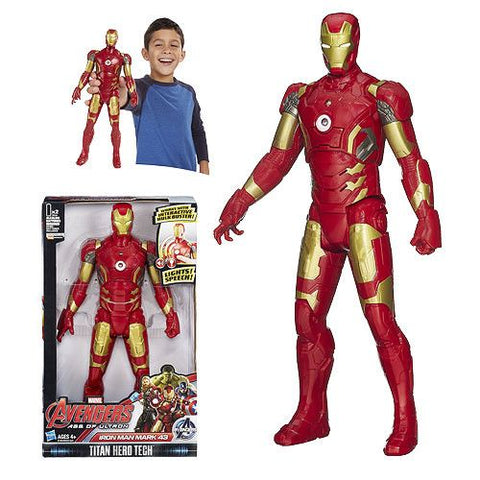 Avengers: Age of Ultron Titan Hero Tech Iron Man Figure