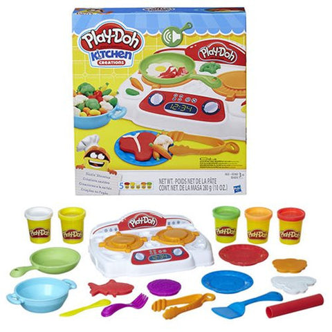 Play-Doh Kitchen Creations Sizzlin Stovetop