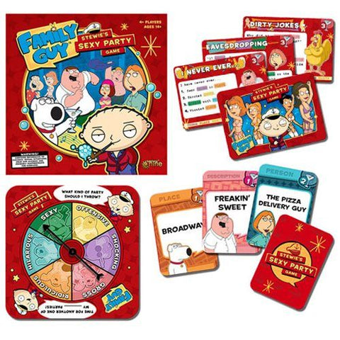 Family Guy Stewie's Sexy Party Game