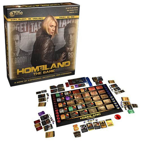 Homeland The Game Board Game