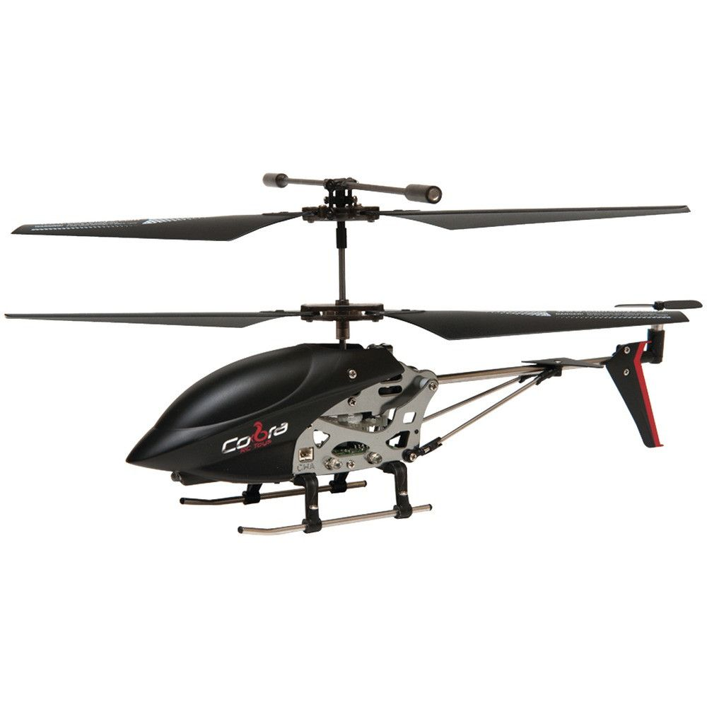 Cobra Rc Toys 3.5-channel Mini Gyro Special Edition Helicopter - Shazam Toys