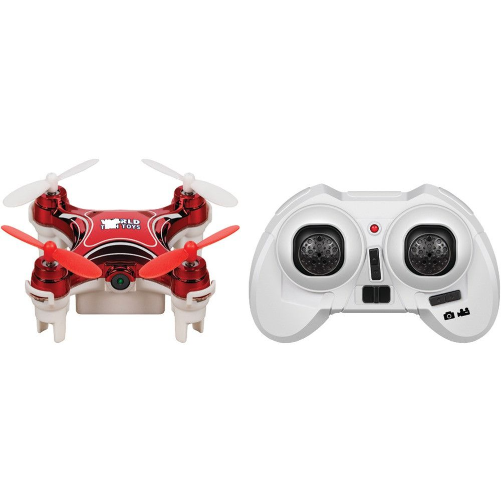 World Tech Elite 2.4ghz Nemo Spy Drone With Camera - Shazam Toys