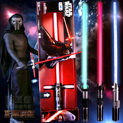 90CM Star Wars Lightsaber Darth Vader Anakin Skywalker Obi- Wan Kenobi Star Wars Light Saber Mint Sound  Light Saber