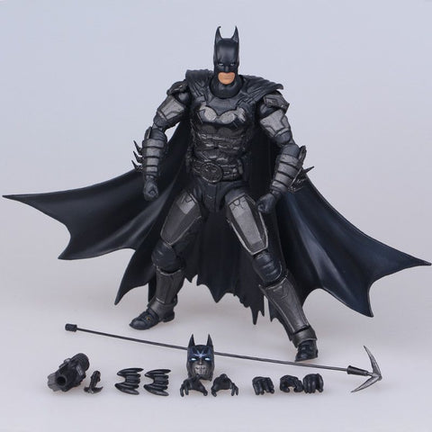 Batman Action Figures Toys Cartoon Anime Movie Justice League Batman Kids Christmas PVC Model Doll Toy 16cm