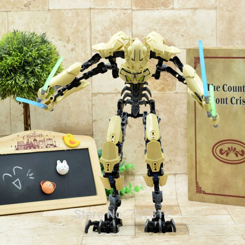 Star Wars ABS Action Figure General Grievous 30CM Cool Movie Collection Toy Bricks  Best Gift XQDZ042