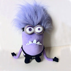 1 eye 2 eyes Small Purple People Despicable Me Daddy Purple Minions Plush Toys Purple Minion Toy Birthday Gift - Shazam Toys