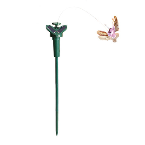 Solar Powered Flying Fluttering Hummingbird Flying Birds Children Kids Solar Toys FCI#