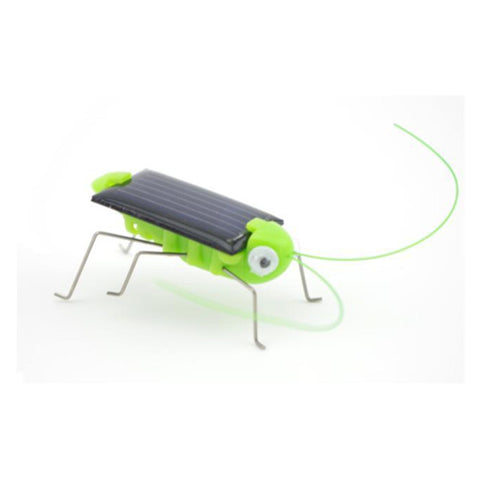 Funny!! New Arrival Grasshopper Model Solar Toy Children Outside Toy Kids Educational Toy Gifts