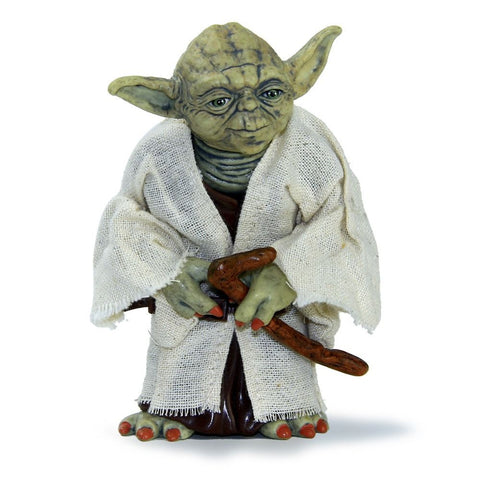 Star Wars 12cm Jedi Master Yoda PVC Action Figure Simulation Model Toy Yoda Toy Gift Collector