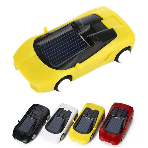 Super Fast Solar Car Toy Novelty Gag Toys Children Educational Enlighten Doll Kids Gift