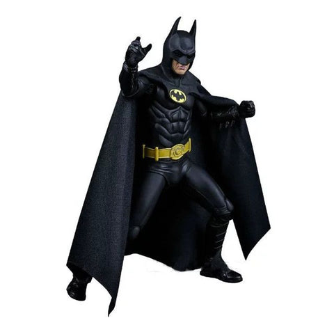 Movie 1989 Michael Keaton come Batman 25th Anniversary Pvc Wiht Arms Action Figure Toys 17cm