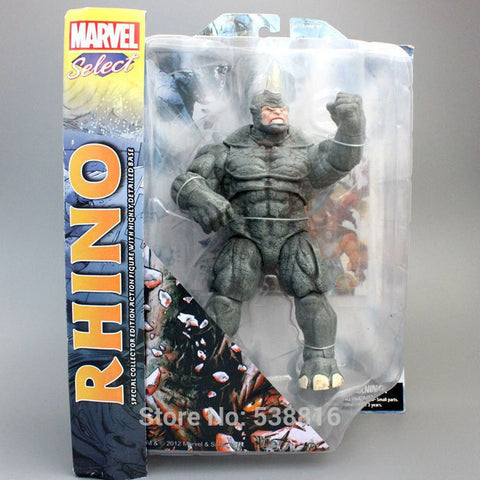 "Marvel Select The Amazing Spider-Man 2 Rhino Action Figure Collectible Toy 9"" 22CM"