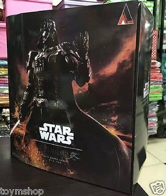 New Variant Play Arts Kai Star Wars No.1 DARTH VADER Action Figure Statue Toys - Shazam Toys