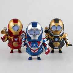 New Avengers Figures Minions Figures 13cm Cosplay Ironman Anime Figures Pvc Home Decoration Toys Hobbies Collection Models - Shazam Toys