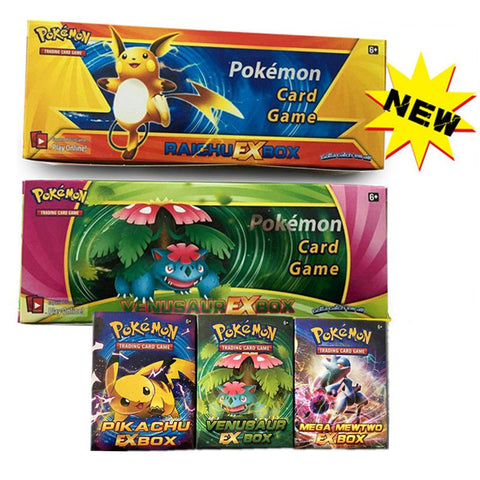 408PCS/Set English Pokemon Cards XY Trading Card Playing Games Collections Pokemon GoToys Include EX Cord For Kids gift
