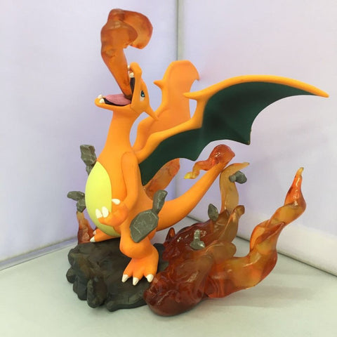 NEW hot 1cm ,pokeMon Go action figure(ww019),firedragon action figure collection toys
