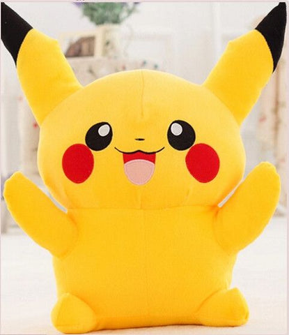 Pokemon plush toys large anime Yellow Pikachu doll birthday gift