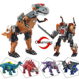 Transformation dinosaur Robots Transformable Toys for children&boys&Kids Action Figure dinosaur Toy Model - Shazam Toys