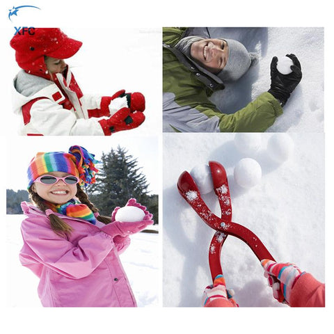 XFC New Outdoor Snowball Maker Activity Snowball Fight Snow Ball Spoon Clip Children Toy Gift