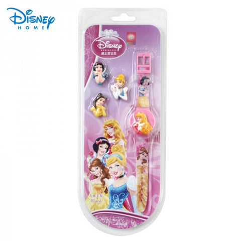 Disney Brand Watch men girls Cinderella/belle princess birthday gifts clock Watch