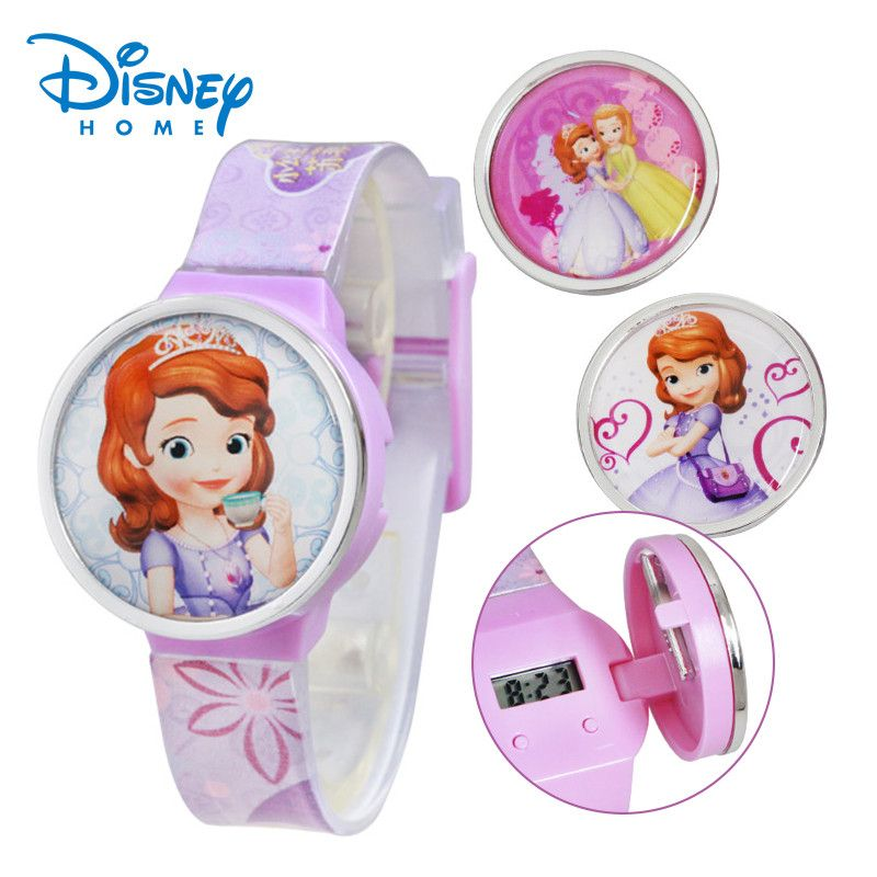 Disney Sofia Children Watch Fashion Cartoon SOPHIA PRINCESS Watches - Shazam Toys