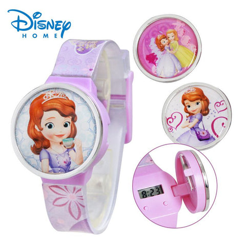 Disney Sofia Children Watch Fashion Cartoon SOPHIA PRINCESS Watches