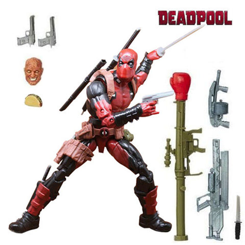 Marvel Legends X-Men Deadpool Chimichanga Action Figure Toys