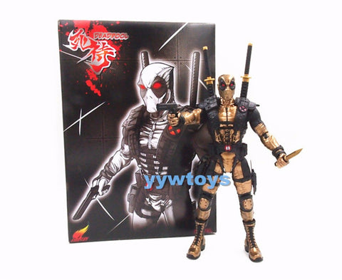 Marvel Legends Deadpool 10 inches Action Figure Toy Doll Gold New in Box