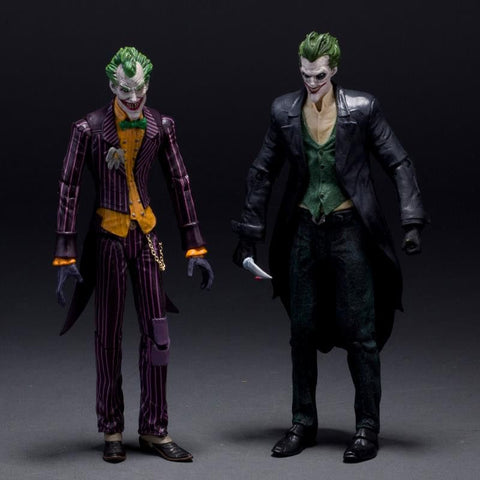 "DC Batman The Joker Arkham Origins PVC Action Figure Collectible Model Toys 7"" 18CM KT107"