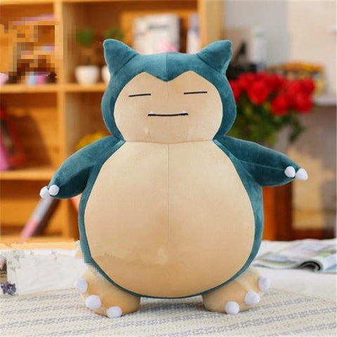 "2016 New Anime Pokemon Center Jumbo Snorlax 48cm/19"" Game Plush Toy Stuffed Doll Kids Gift"