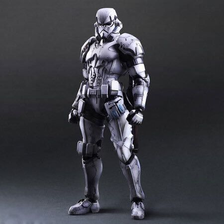Star Wars:The Force Awakens Storm Trooper 28cm Action Figure Collection Model For Kid Gifts 1078