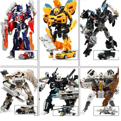 Transformation 4 Optimus Pe Bumblebee Anime Robots Figures
