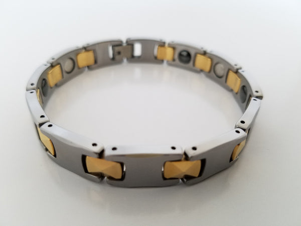 Men's Tungsten Carbide Magnetic Bracelets
