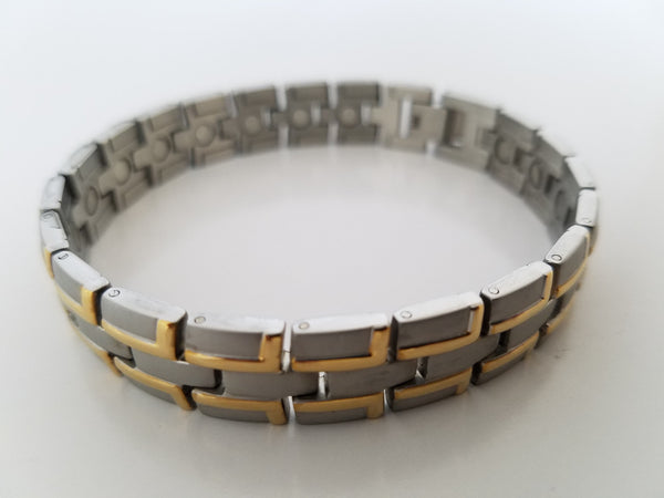Men's Stainless Steel Magnetic Bracelet
