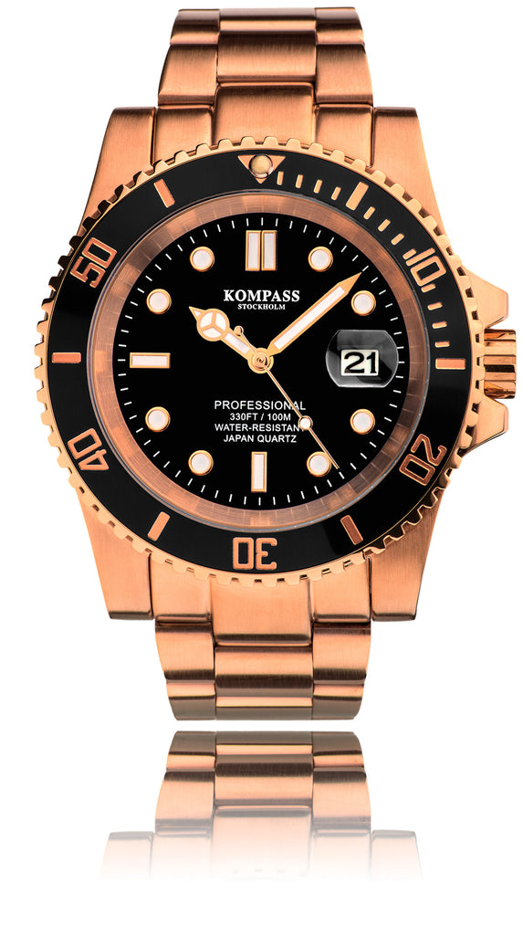 KOMPASS GRAND DIVER ROSE GOLD