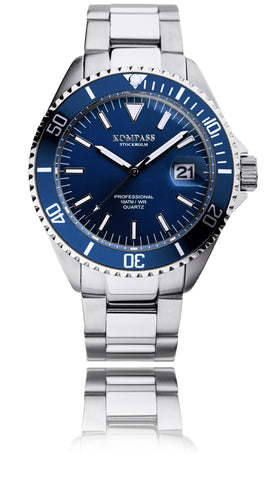 KOMPASS PROFESSIONAL DIVER BLUE