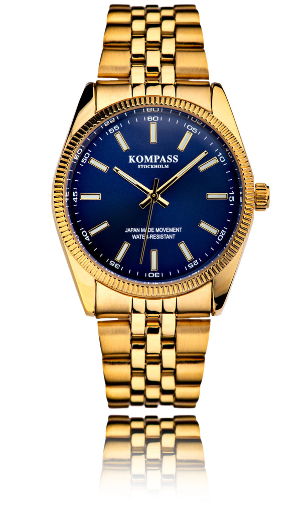 Kompass Santorini Gold Blue