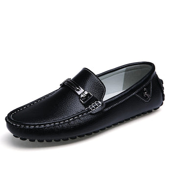 Leather Moccasin Loafer - Young Men's Clothing CO.