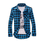Vintage Plaid Casual Shirt - Young Men's Clothing CO.