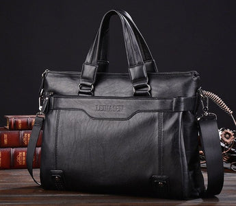 Leather Men's Shoulder Bag - Young Men's Clothing CO.