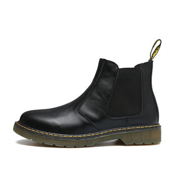 Patent Leather Chelsea Boots - Young Men's Clothing CO.