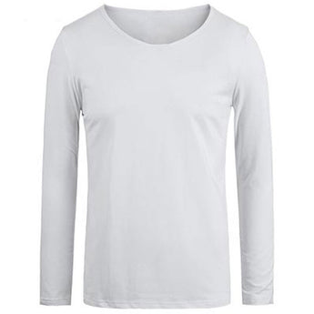 Long Sleeve Solid Color T-shirt - Young Men's Clothing CO.