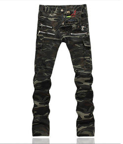 Camouflage Skinny Jeans - Young Men's Clothing CO.