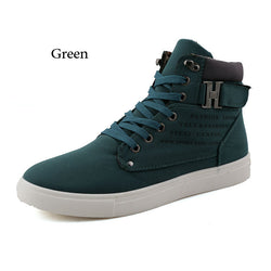 Canvas High Top Sneakers - Young Men's Clothing CO.